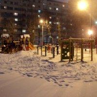 Январский вечер в Люберцах. :: Ольга Кривых