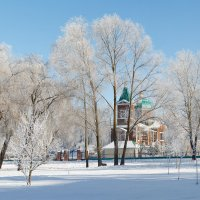 Зима в парке... :: Вадим *