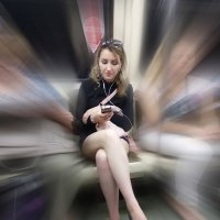 Московское метро (или A Momentary Lapse of Reason) :: Alex Sash