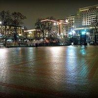 огни и силуэты или зимним вечером и без снега :: Олег Лукьянов