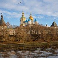 Новоспасский монастырь :: Сергей Басов