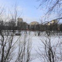 Вид с противоположной стороны озера. :: галина