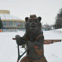 Медведь на самокате :: Александр Буянов