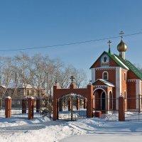 Сельский храм. Ерзовка. Самарская область :: MILAV V