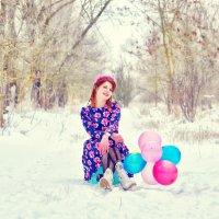 Мари зимнее настроение! :: Роза Бара