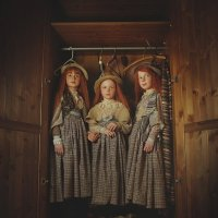 Чердачные куклы :: Надежда Шибина