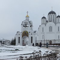 Храм в честь погибших в Чернобыльской аварии :: Ирина Олехнович