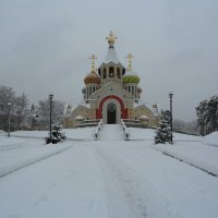 Переделкино,Храм Игоря Черниговского :: ninell nikitina