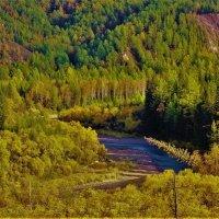 Река Белый Июс :: Сергей Чиняев