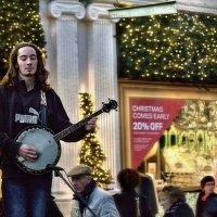 Уличный музыкант :: Мария Воронина (Турик)