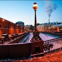 Зимний вечер на р.Мойке. :: Александр Яковлев
