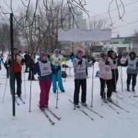 Районные соревнования по лыжным гонкам :: Центр Юность