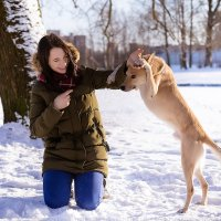 Маша и Марли :: Ekaterina Usatykh