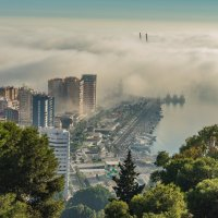 Туман на море :: Владимир Брагилевский