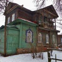 Старина Нерехта дом с мезонином . :: Святец Вячеслав