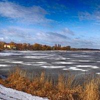 панорама зимнего озера :: юрий иванов