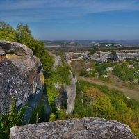 взгляд на балку Джан-Казы с плато Эски-Кермена :: Андрей Козлов