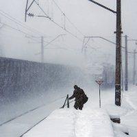 Зарисовки зимние. Однажды в декабре... :: Александр Резуненко