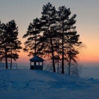 Морозный закат :: Олег