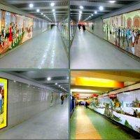 Мозаика в подземных переходах Ростова-на-Дону :: Нина Бутко