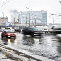 Третье транспортное в Москве... :: Юрий Яньков