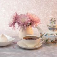 Хризантемовый чай :: Елена Ахромеева