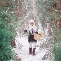 Девица Зима :: Елена Князева