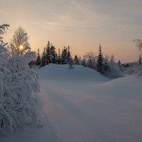 Морозная тишина.... :: Олег Кулябин