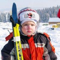 юный лыжник :: леонид логинов