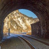 Один из тоннелей КБЖД :: Анатолий Иргл