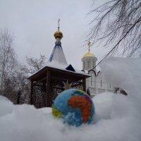 В Москве снегопад побил столетний  рекорд... :: Алекс Аро Аро