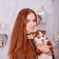 Алена и шоколадка :: Елена Акимова