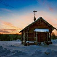 Утро на Крещение Гоcподне... :: Александр Никитинский