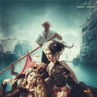 Girls in Venice :: Maksim Larionov