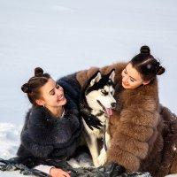 Зимние забавы :: Татьяна Баценкова