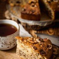 Ореховый пирог с маршмеллоу :: Besedinajulia .