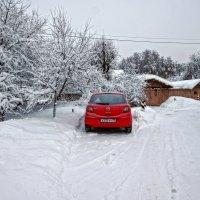 После снегопада в моей вотчине Ромашково.... :: Юрий Яньков