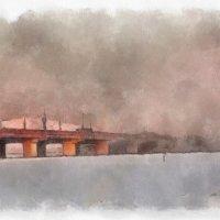 Река, мост, крест :: Stanislav Trishin