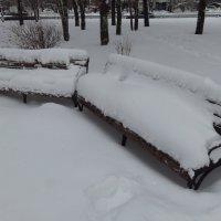 Зима в городе :: Андрей Лукьянов