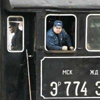 Москва. Езда на паровозе трубой назад. :: Игорь Олегович Кравченко