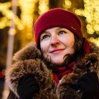 Фотосессия в огнях ночного города :: Оксана Грищенко