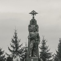 памятник ч/б :: Юлия Денискина