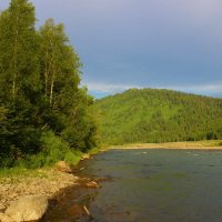 На реке Уса :: Сергей Чиняев
