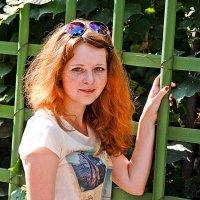 В летнем саду :: Женя Скопинова