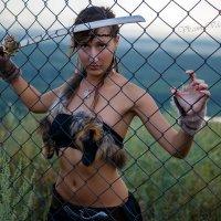 Liya, девушка с мечом :: Igor Kazanskiy