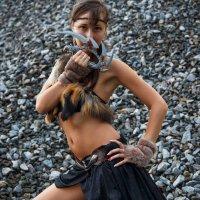 Liya, девушка амазонка :: Igor Kazanskiy