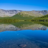 горное озеро :: Соня Орешковая (Евгения Муравская)