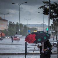Дождь в Астане :: Максим Рожин