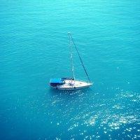 Одинокая яхта :: Анастасия Удовиченко