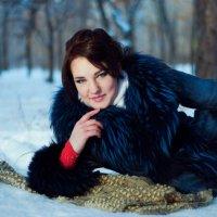 На снегу :: Uliyana Makshanova